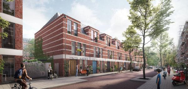 Fase 2 in verkoop: 11 stadswoningen, 6 appartementen