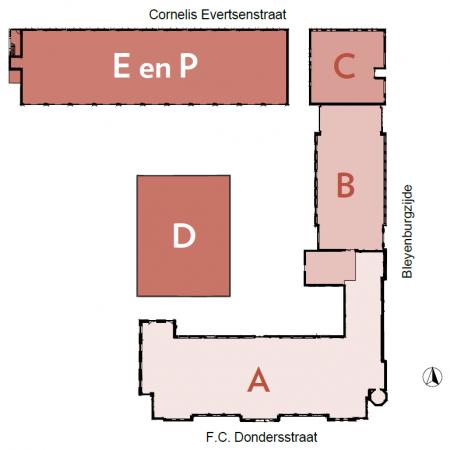 plattegrond ABCDEP
